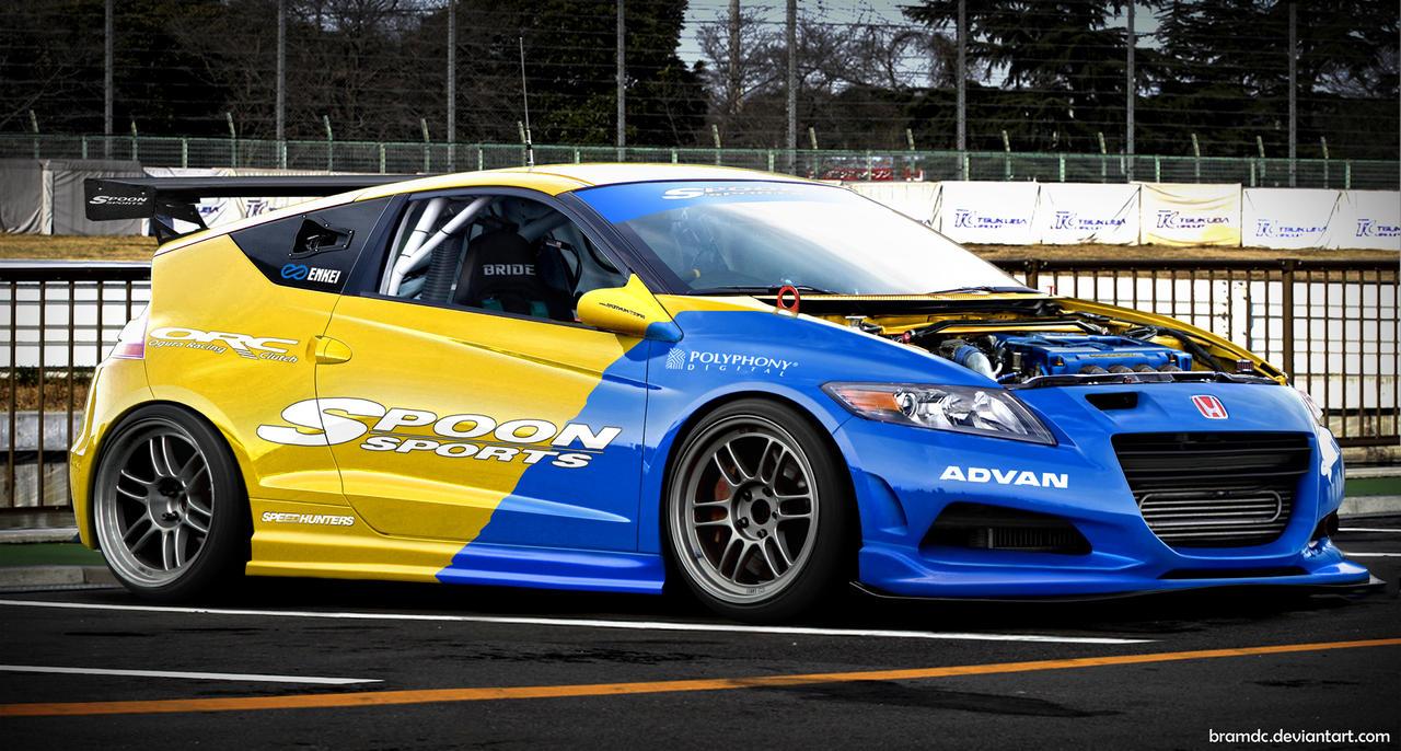 Spoon Cr Z Race Car