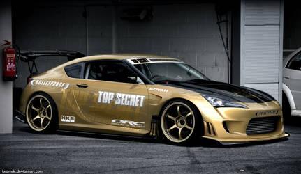 TOP SECRET Toyota FT-86