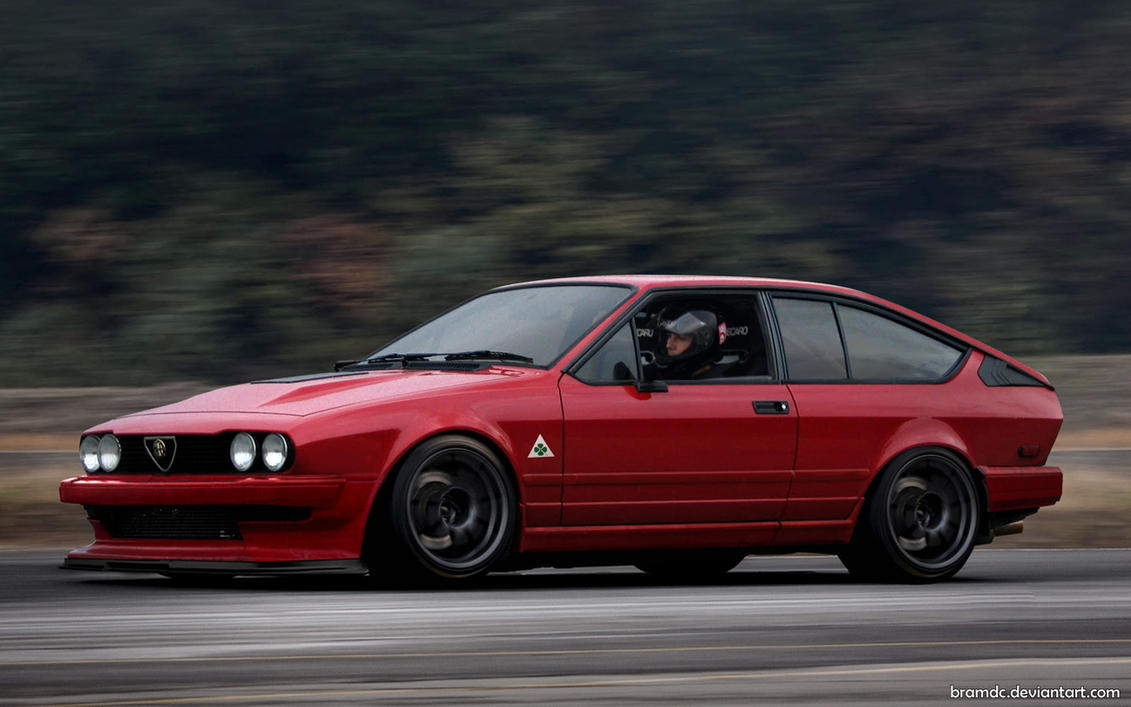 Alfa Gtv6 By Bramdc On Deviantart
