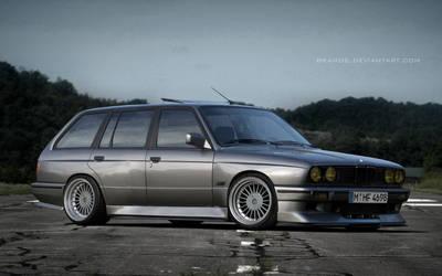 BMW E30 Touring by BramDC
