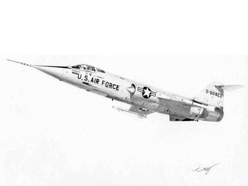 F-104 Commission 12 by Raptorguy
