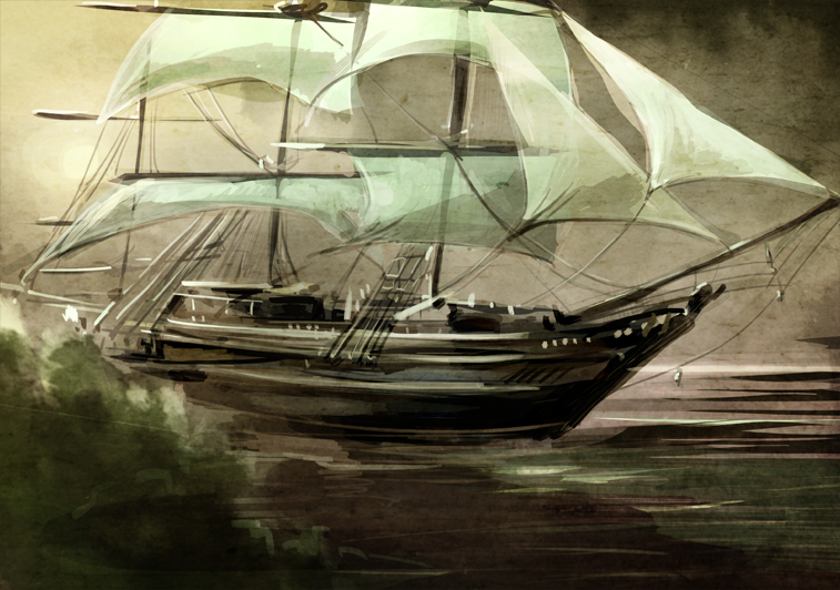 Scribbles, sketches, and WIPs - Page 6 Tallship_speedpaint1_by_varethane-d65bpbj