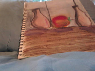 Oil, pastel still life drawings by wts22