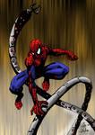 Spiderman vs. doc ock color
