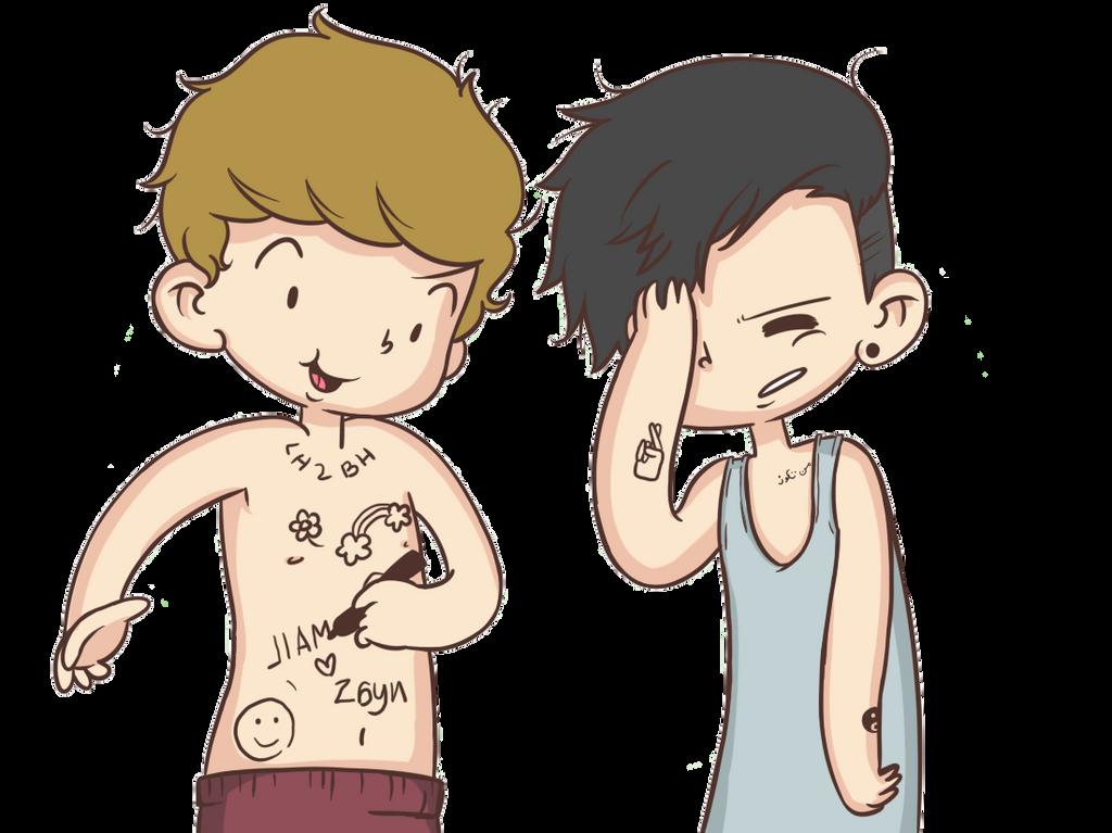 One Direction Caricatura Png by manchita12341