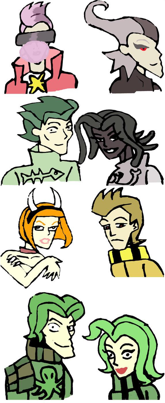 Mythos Gods/Demons Humanized by ZoKpooL1