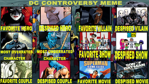 DC Controversy Meme By Me by ZoKpooL1