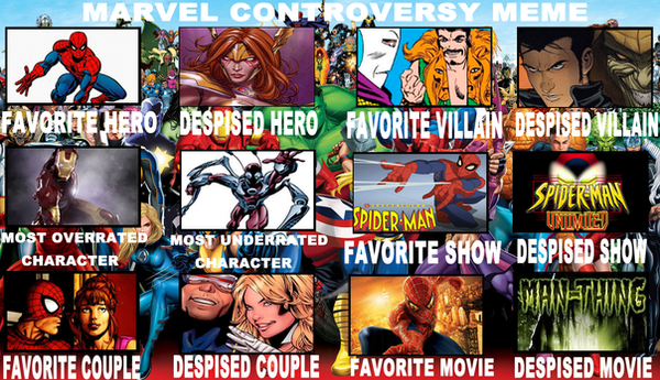 Marvel Controversy Meme By Me by ZoKpooL1