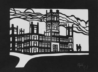 Downton Abbey Paper Cut-out by Whiterabbit456