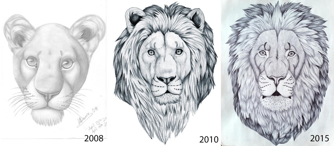 Lion comparison by HDevers