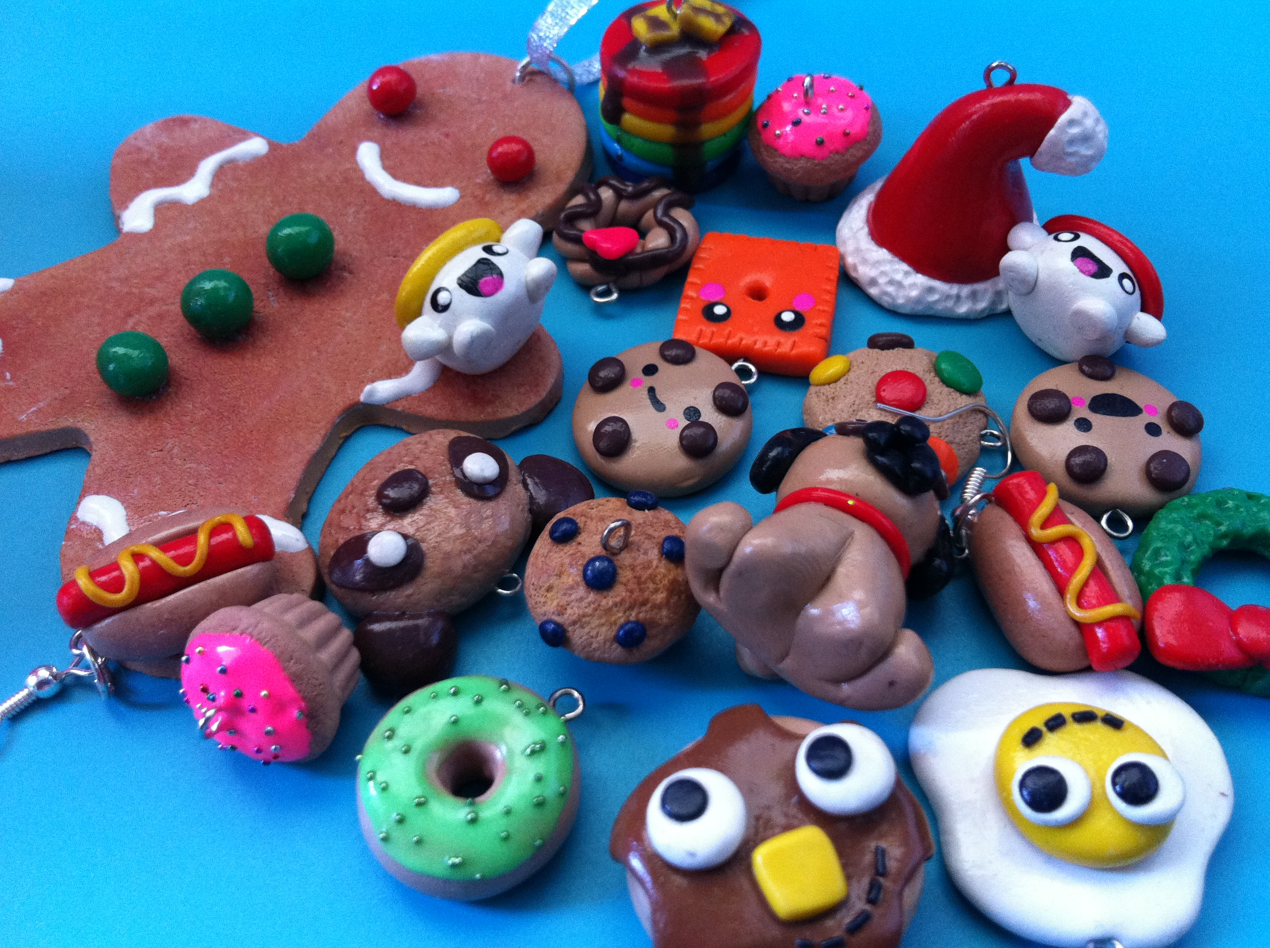 my polymer clay charms 3 by claycupcakes4 on deviantart