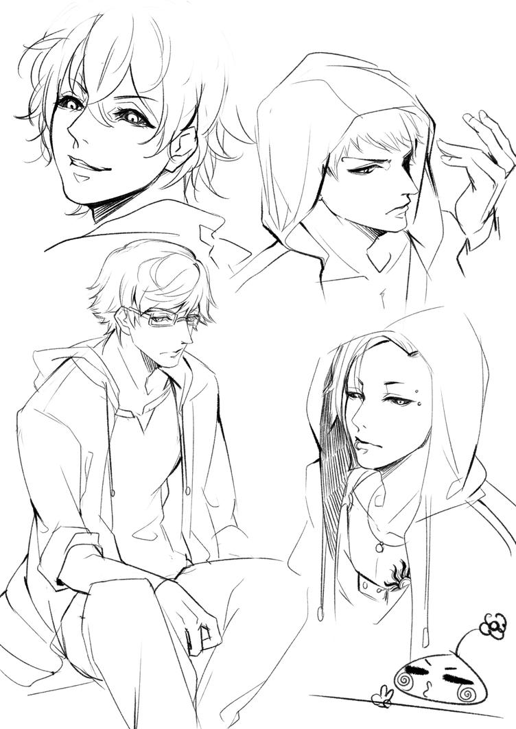 Tokyo Ghoul Sketch By Monsohot On DeviantArt