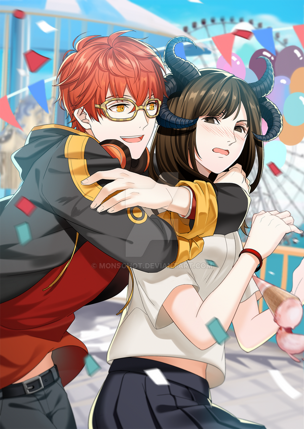 Commission: 707 x R-A by Monsohot