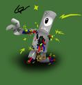 Crazed Robot by Skull1000