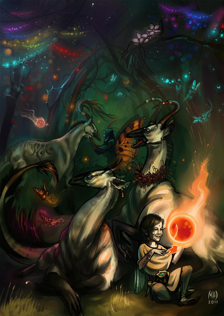 Night light by DemonLife