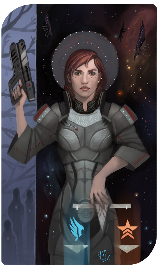 Commission: Shepard by DemonLife