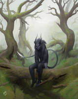 In the forest by madnessdemon