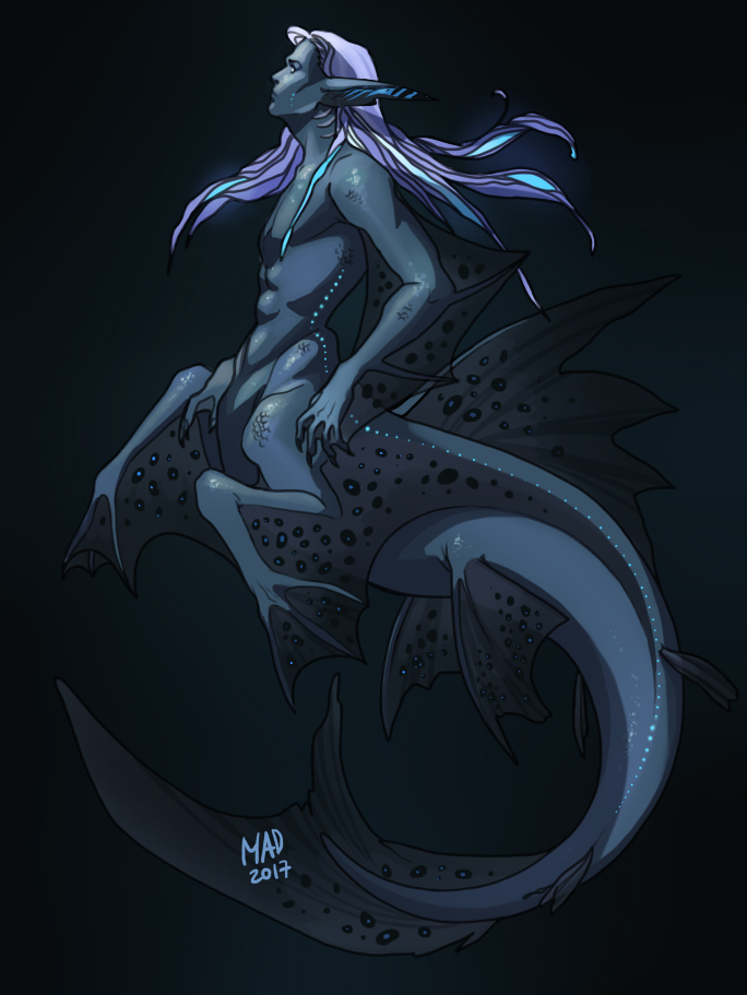 Deep water by madnessdemon