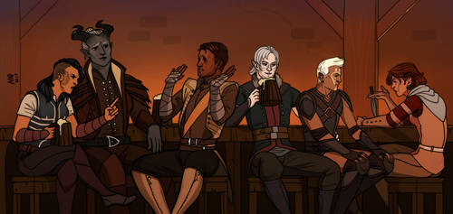 C: In the tavern by madnessdemon