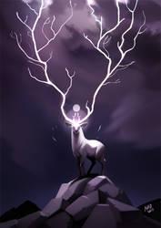 Lightning Deer
