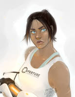 Chell by Reneehere