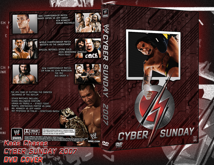 WWE Cyber Sunday 2007 by kaoschase on DeviantArt