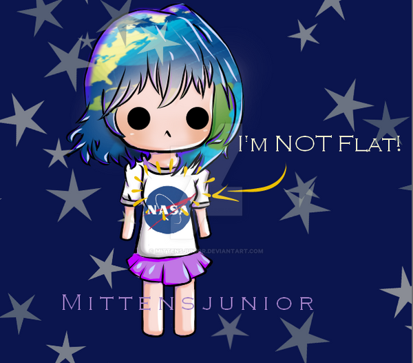 Earth-Chan by Mittensjunior