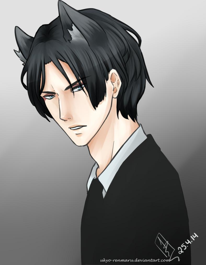 Old black fox (? by Ukyo-Renmaru