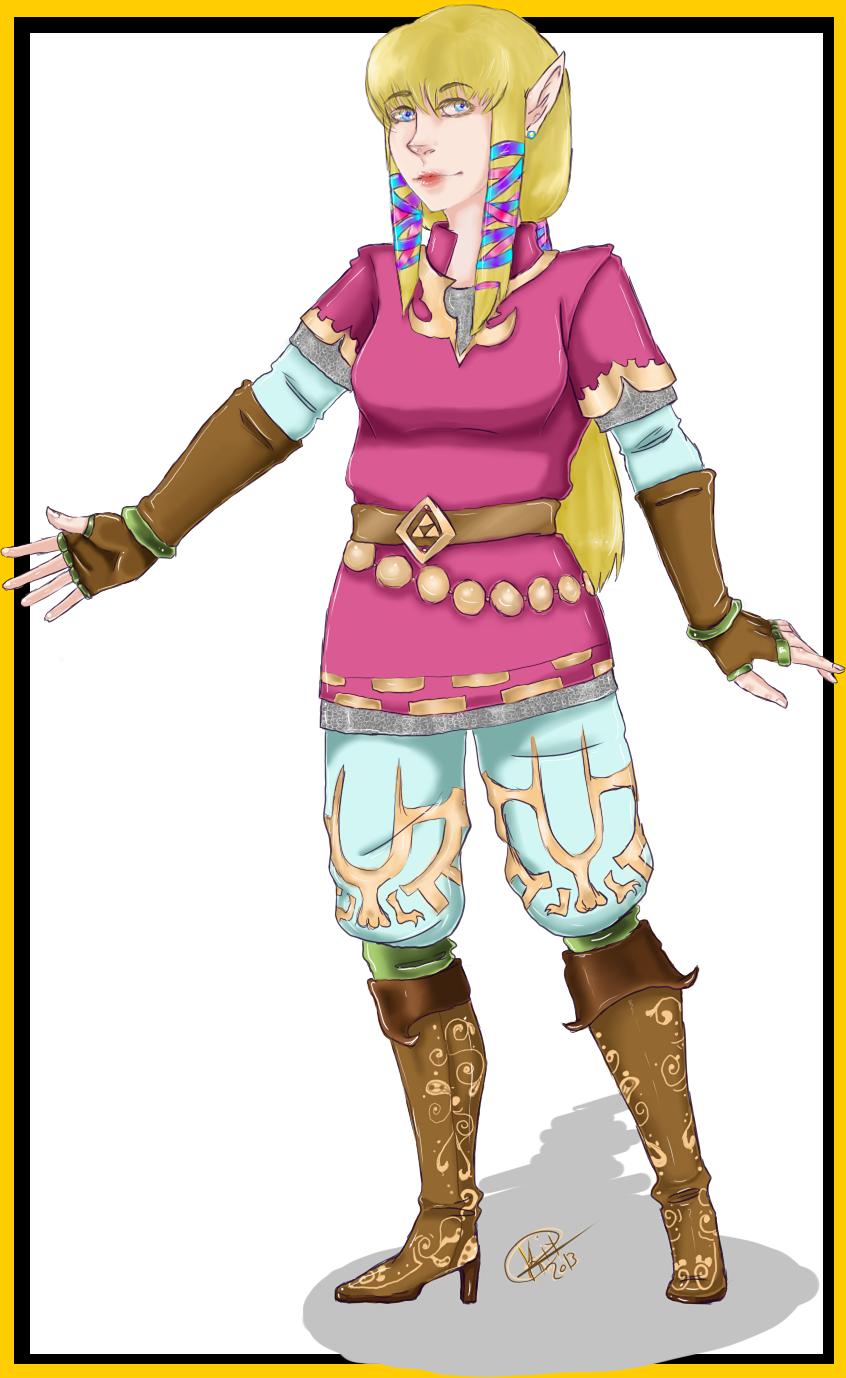 Zelda Knights Uniform by Kitratre