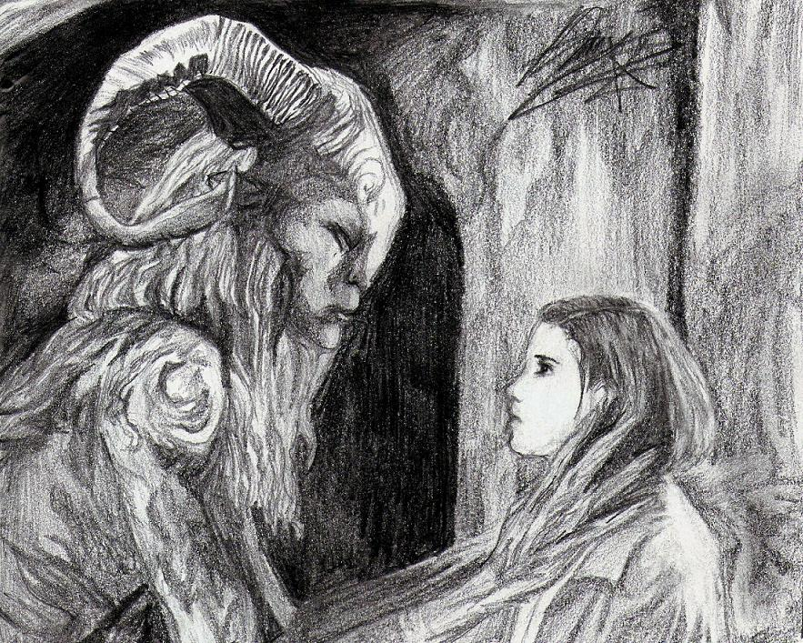 pans labyrinth faun by MoonlighttX on DeviantArt
