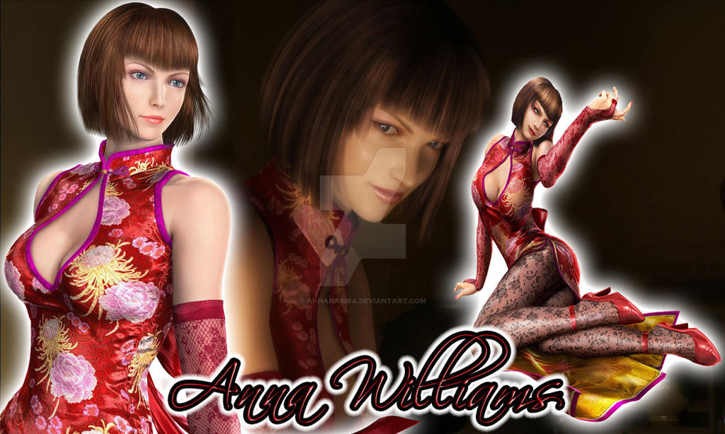 Anna Williams by Ai-Hanabira