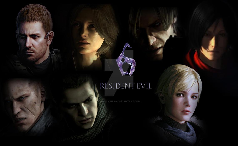 Resident Evil 6 by Ai-Hanabira