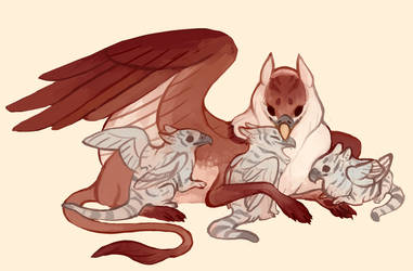 Gryphon with babs