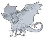 Another Pern Dragon Template