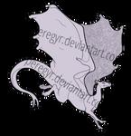 Pern Dragon Template - Jumping