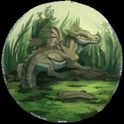 Swamp Dragon by peregyr