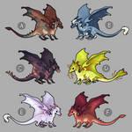 mini dragon adoptables 1 (closed)