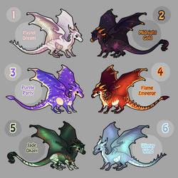 mini dragon adoptables 2 (1/6 OPEN)