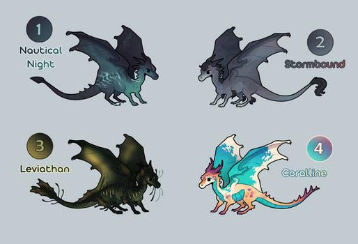 Mini ocean dragon adopts (CLOSED)
