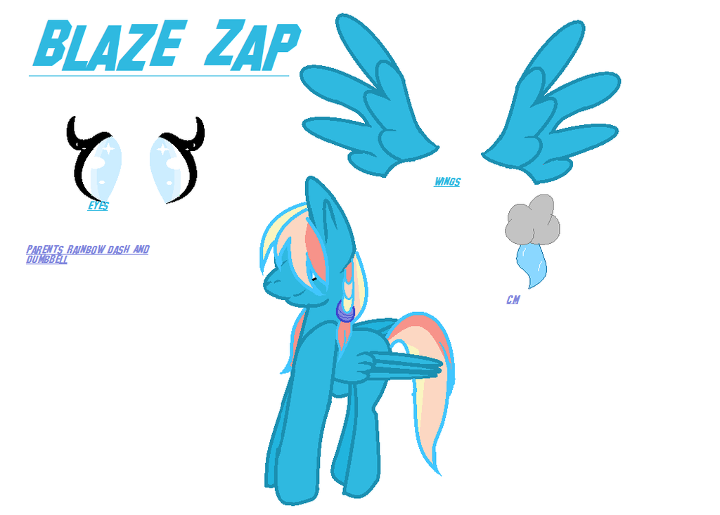 Blaze Zap by WalnutPony