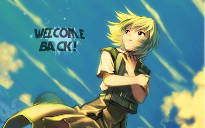 Anime Sign 3 Wel e Back by xQuake on DeviantArt #0: anime sign 3 wel e back by xquake d5ewlyc