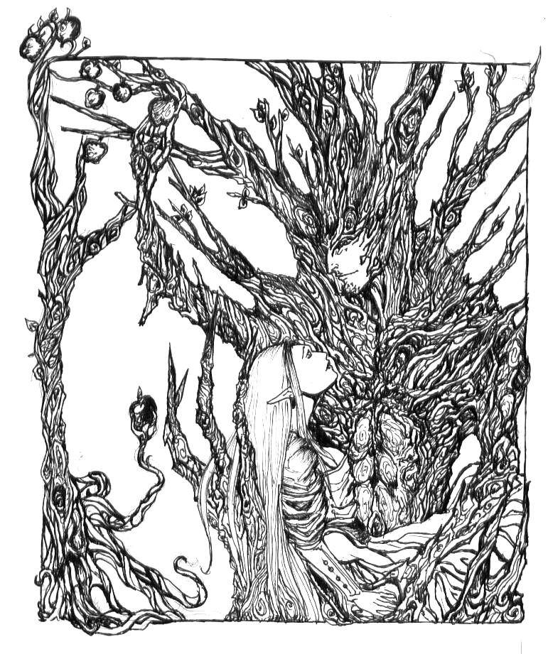 A Tree And Its Love by punkstatikstar