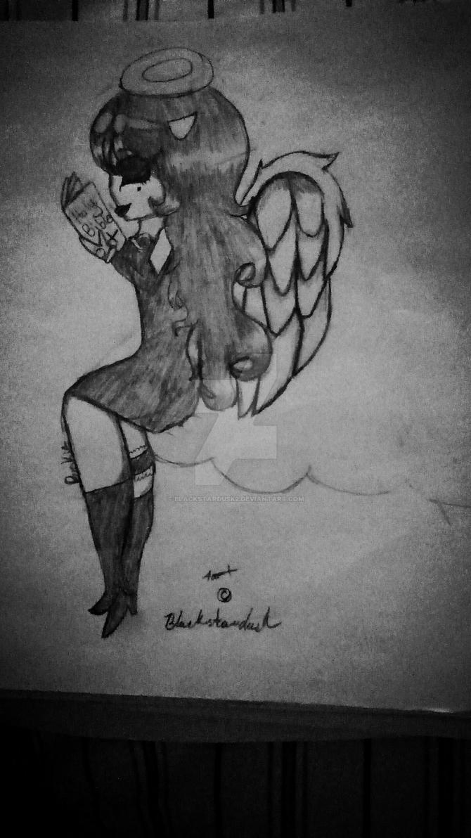 Angelic Angel by Blackstardusk