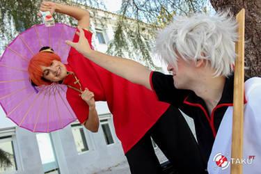 Gintama cosplay by Bunnyie