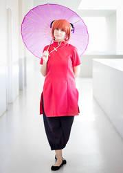 Gintama - Kagura cosplay by Bunnyie