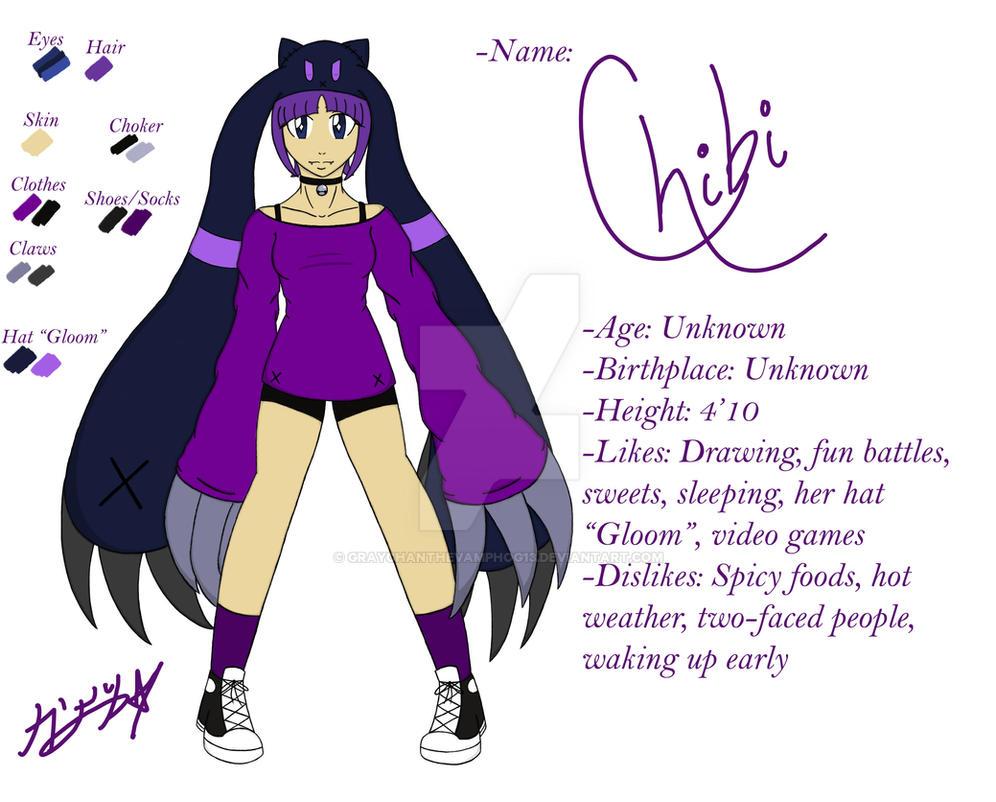 Chibi - Character Sheet by graychanthevamphog13