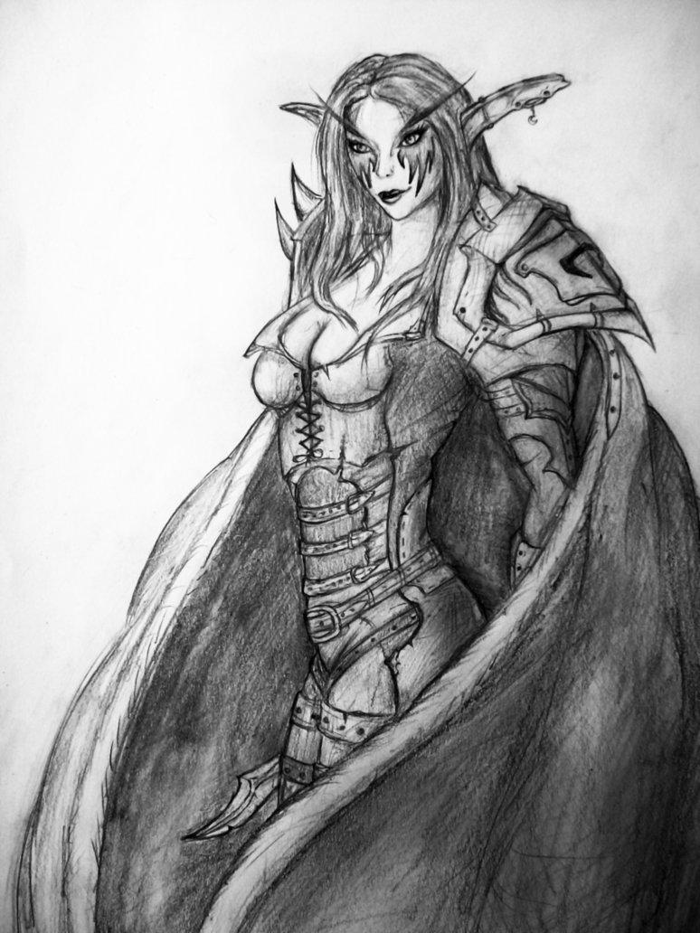 RazorBlisS The Nightelf Rogue by Razorbliss101