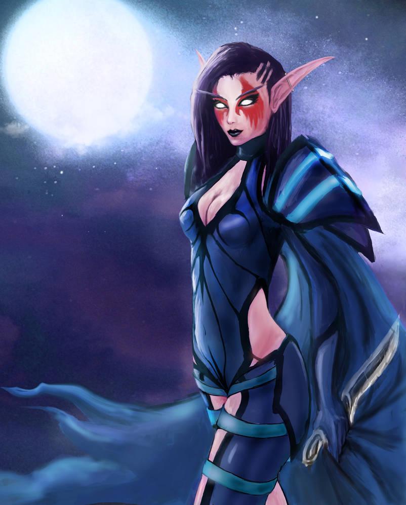 Razorbliss The Night Elf Rogue By Razorbliss101 On Deviantart