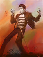 Elvis by morganagod