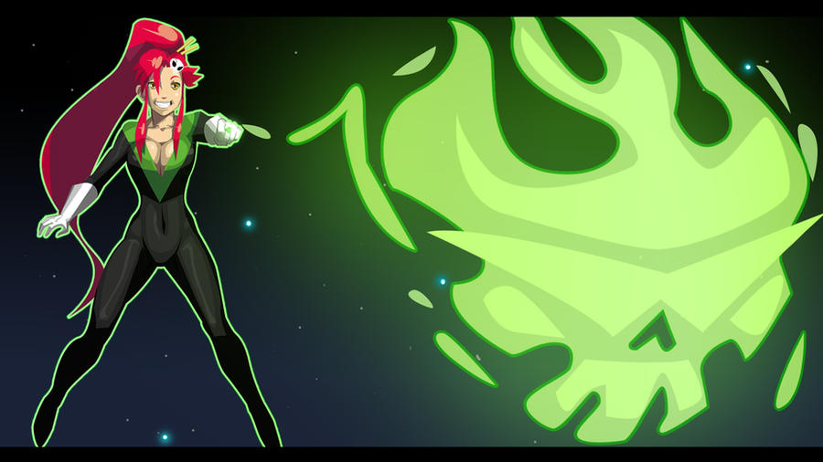 Green Lantern Yoko Wallpaper by morganagod
